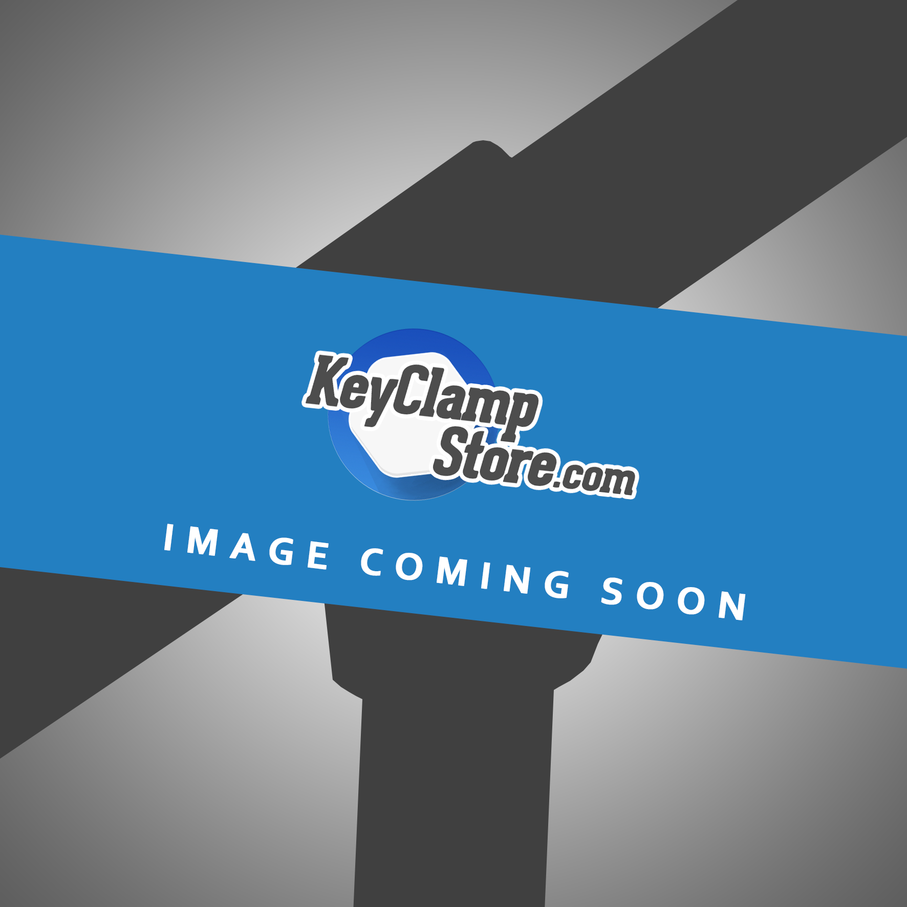 Yellow Powdercoated Key Clamp Tee
